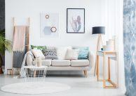 Gør stuen hyggelig og intim